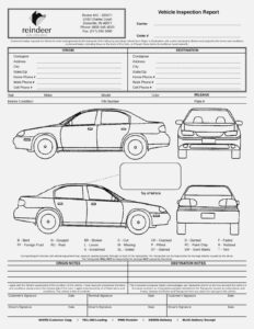Car Damage Report Template – Yolar.cinetonic – Form Information with regard to Car Damage Report Template