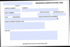 Car Insurance Card Template Pdf Understanding The – Nyfamily with regard to Proof Of Insurance Card Template