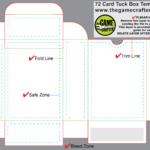Card Box Template – Hizir.kaptanband.co With Regard To Card Box Template Generator