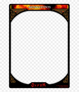 Card Template Png – Trading Card, Transparent Png – 774X1032 inside Dominion Card Template