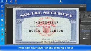 Card Template Psd with regard to Fake Social Security Card Template Download