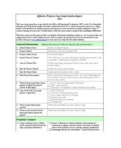 Case Report Template – Cnbam regarding Funding Report Template