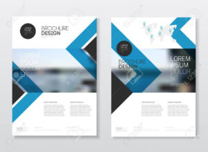 Catalogue Cover Design. Annual Report Vector Illustration Template throughout Ind Annual Report Template