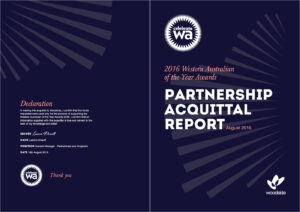 Celebrate Wa – Partnership Acquittal Report – Woodside On regarding Acquittal Report Template