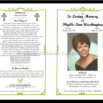 Celebration Of Life Templates For Word Free - Aol Image with Memorial Card Template Word