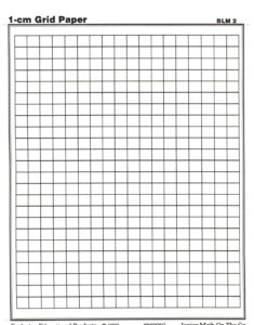Centimeter Graph Paper | Math Teaching Ideas | Printable with 1 Cm Graph Paper Template Word