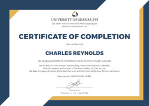 Certificate Of Completion | Certificate Of Regarding intended for Certificate Of Completion Template Word