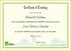 Certificate Of Completion Template Free Download Course for Free Training Completion Certificate Templates