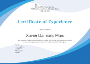 Certificate Of Experience Template – Bizoptimizer pertaining to Certificate Of Experience Template