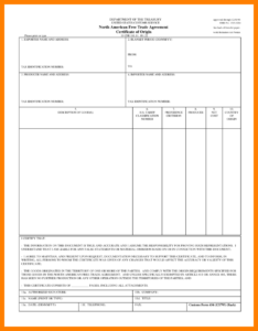 Certificate Of Origin Template Word 13 – Elsik Blue Cetane with Certificate Of Origin Template Word