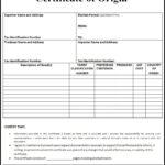 Certificate Of Origin Templates   2+ Free Printable Ms Word With Regard To Certificate Of Manufacture Template