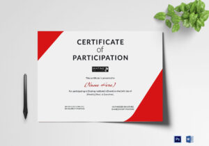 Certificate Of Participation For Skating Template intended for Certificate Of Participation Word Template