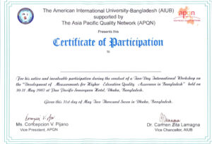 Certificate Of Participation Template 9 – Elsik Blue Cetane inside Sample Certificate Of Participation Template