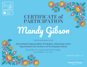 Certificate Of Participation Template – Venngage Throughout Templates For Certificates Of Participation