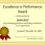 Certificate Of Performance Template Filename | Elsik Blue Cetane with Best Performance Certificate Template
