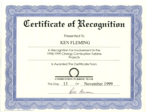 Certificate Of Recognition Word Template 1 – Elsik Blue Cetane for Certificate Of Recognition Word Template