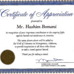 Certificate Of Recognition Wording Copy Certificate Throughout Volunteer Certificate Template