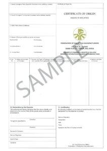 Certificate Origin Template Usa Nafta Of Form Us Word with regard to Certificate Of Origin Form Template