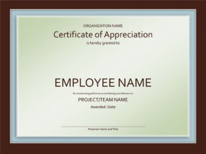Certificate Powerpoint Template Filename | Elsik Blue Cetane intended for Powerpoint Award Certificate Template