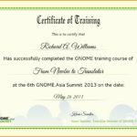 Certificate Sample For Training Filename   Elsik Blue Cetane Intended For Template For Training Certificate
