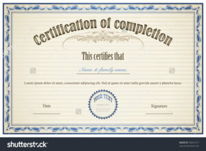 Certificate Sample Templates 14 – Elsik Blue Cetane with regard to High Resolution Certificate Template