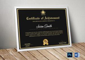 Certificate Template | Certificate Of Appreciation in Commemorative Certificate Template