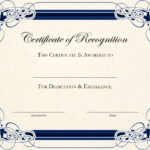 Certificate Template Designs Recognition Docs   Blankets For Free Art Certificate Templates