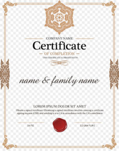 Certificate Template Png Download – 1579*1980 – Free Intended For Certificate Of Authorization Template