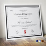 Certificate Template   Printable Award Certificate   Clean Certificates    Simple Design   Editable Ms Word   Certificate Of Achievement For Microsoft Office Certificate Templates Free