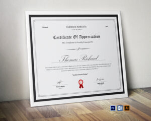 Certificate Template | Printable Award Certificate | Clean Certificates |  Simple Design | Editable Ms Word | Certificate Of Achievement for Microsoft Office Certificate Templates Free