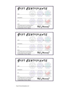 Certificate Template Subject Name | Free Resume Examples inside Tattoo Gift Certificate Template