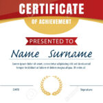 Certificate Template,diploma Layout,a4 Size ,vector Intended For Certificate Template Size