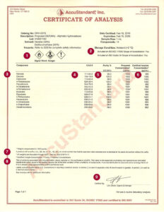 Certificate Templates: Download Certificate Of Analysis for Certificate Of Analysis Template