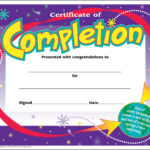 Certificate Templates For Kids Free Download 3 – Elsik Blue With Free Printable Certificate Templates For Kids