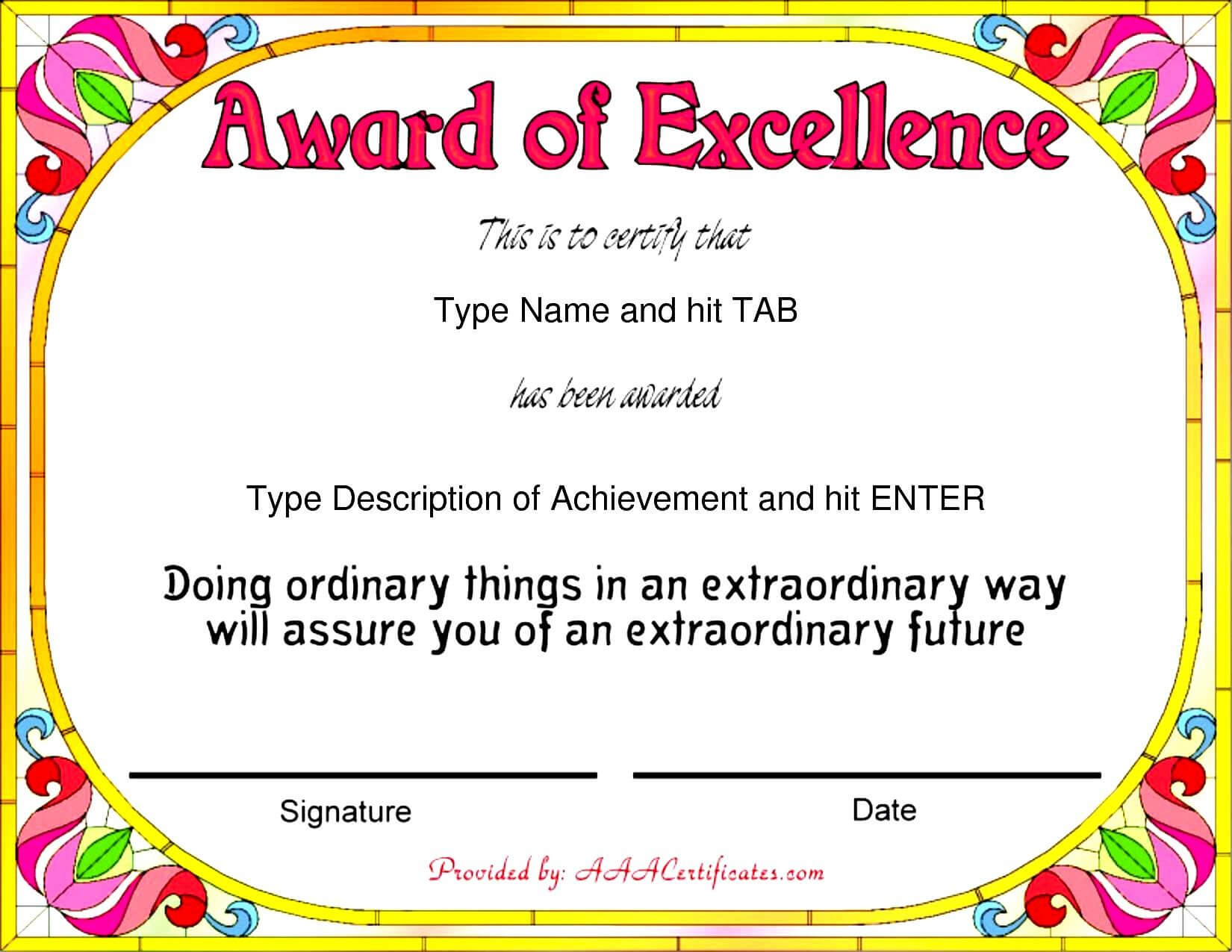 Certificate Templates Funny Filename | Elsik Blue Cetane Within Free Funny Award Certificate Templates For Word