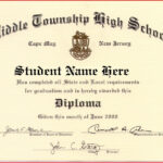 Certificate Templates   Health   Free High School Diploma Within Free School Certificate Templates