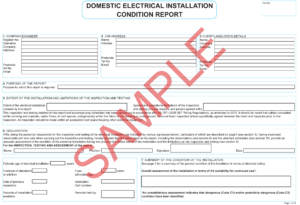 Certificates | Everycert for Electrical Minor Works Certificate Template