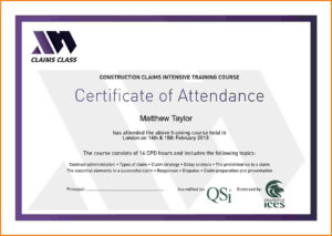 Certificates Of Attendance Templates – Hizir.kaptanband.co inside Conference Certificate Of Attendance Template