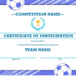 Certificates – Office Throughout Sample Certificate Of Participation Template