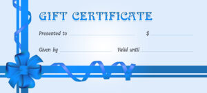 Certificates Templates For Word Gift Certificate 2007 within Professional Certificate Templates For Word