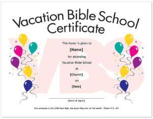 Certificates: Terrific Horseback Riding Lesson Gift inside Vbs Certificate Template