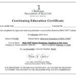 Ceu Certificates Template Beautiful Continuing Education pertaining to Continuing Education Certificate Template