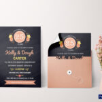 Chalkboard Anniversary Invitation Card Template Inside Word Anniversary Card Template
