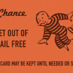 Chance Card Vintage Monopoly Gdesign Turnpike | Metal With Regard To Monopoly Chance Cards Template