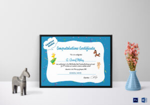 Chatter Books Congratulations Certificate Template within Congratulations Certificate Word Template
