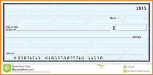 Checks Template Word | Template | Receipt Template pertaining to Blank Check Templates For Microsoft Word