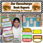 Cheeseburger Book Report Project: Templates, Printable Throughout Sandwich Book Report Printable Template