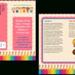 Child Care Brochure Template 11 Inside Daycare Brochure Template
