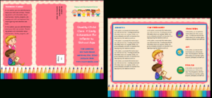 Child Care Brochure Template 11 inside Daycare Brochure Template