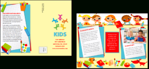 Child Care Brochure Template 20 within Daycare Brochure Template